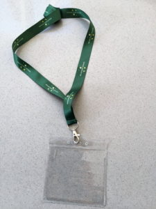 WCSQM lanyards with plastic wallet - £2.50 each