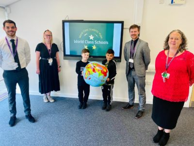 Derby school St Giles is officially recognised as 'World Class'