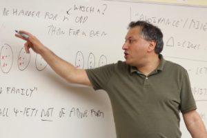 Imre Leader, Professor of Mathematics, Trinity College Cambridge