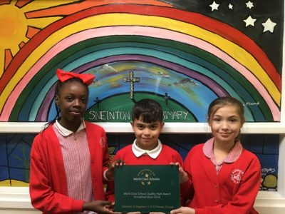Sneinton Primary School Achieves World Class Status